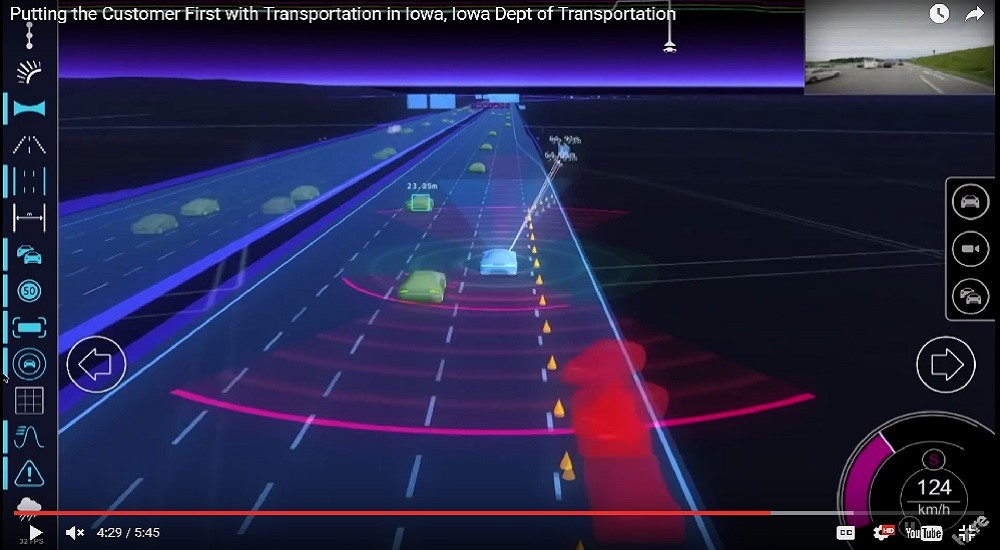 Why this interstate in Iowa might be the best place for pilot projects using highly automated vehicles