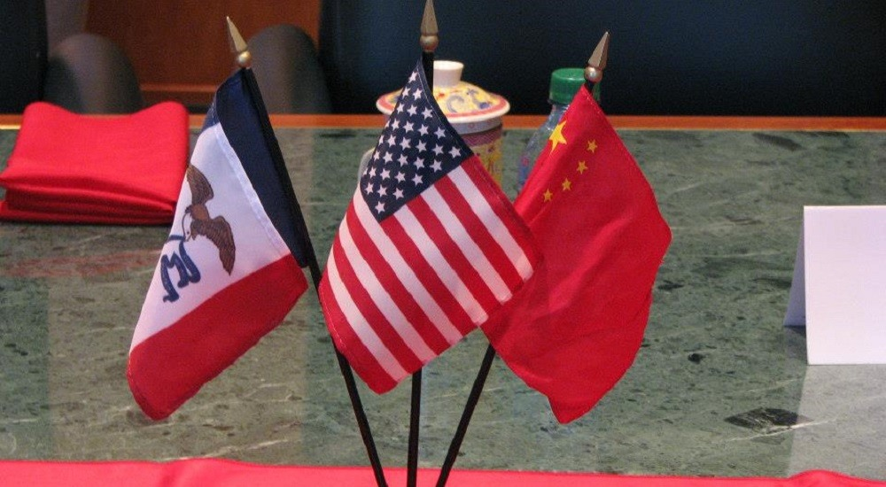 Chinese news channel reports on the country's close trade relationship with Iowa